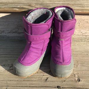 LL Bean Toddler Boots